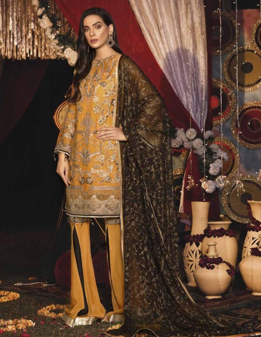 Emaan Adeel Luxury Chiffon 607