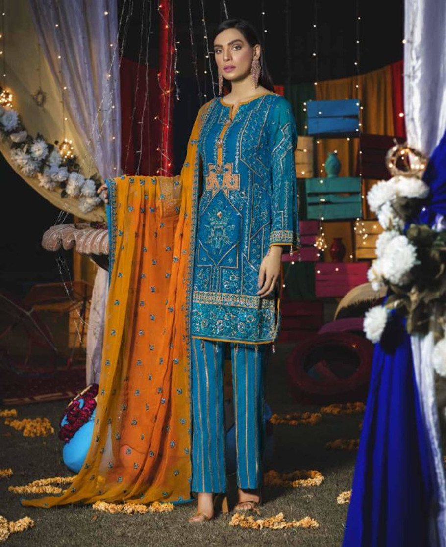 Emaan Adeel Luxury Chiffon 604