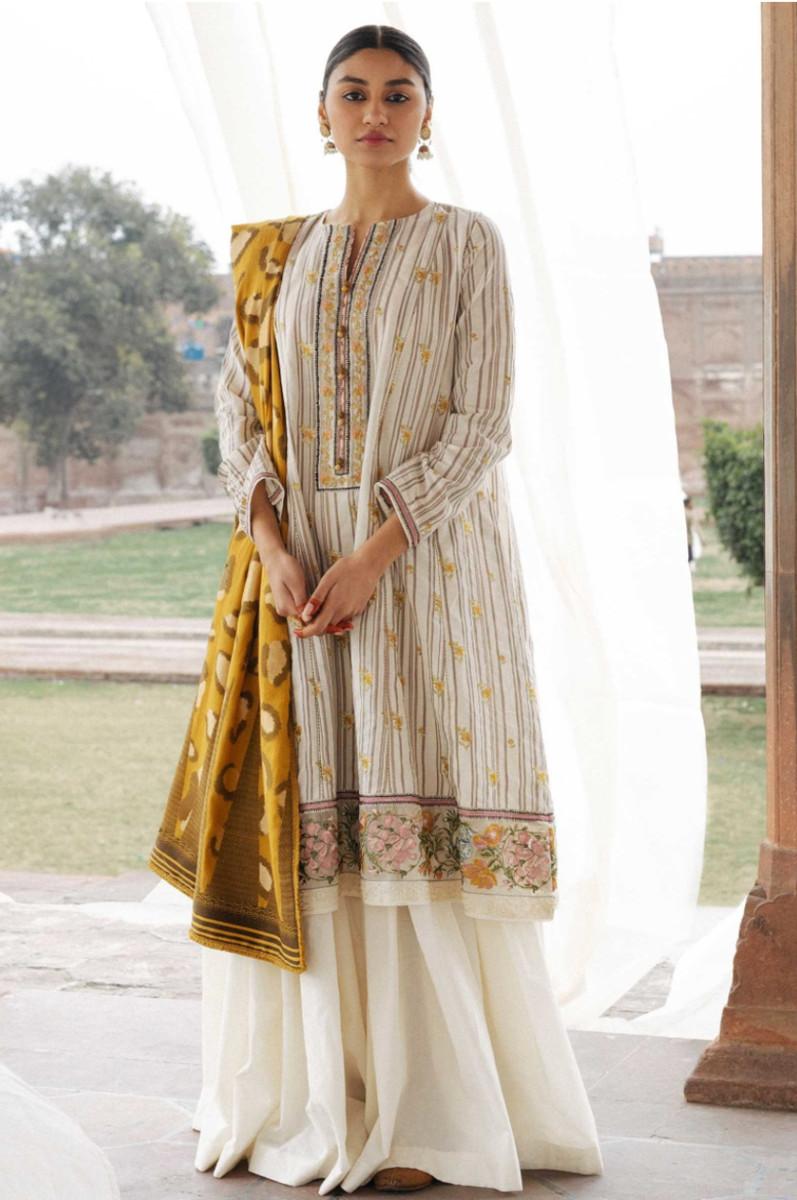 Zara Shahjahan Lawn Zareen - A