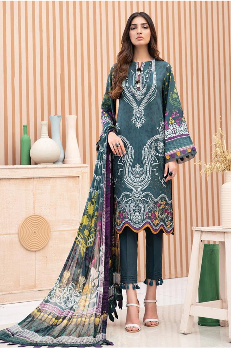 Jazmin Iris Lawn Vol.2 Fareesa