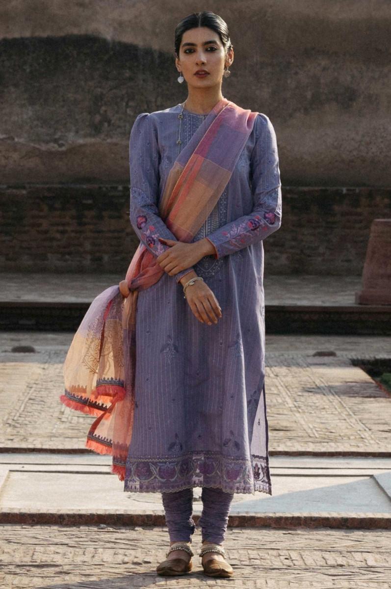 Zara Shahjahan Lawn Mehnaz-B