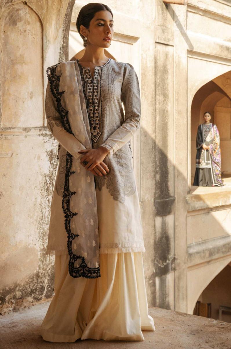 Zara Shahjahan Lawn Mumtaz-B