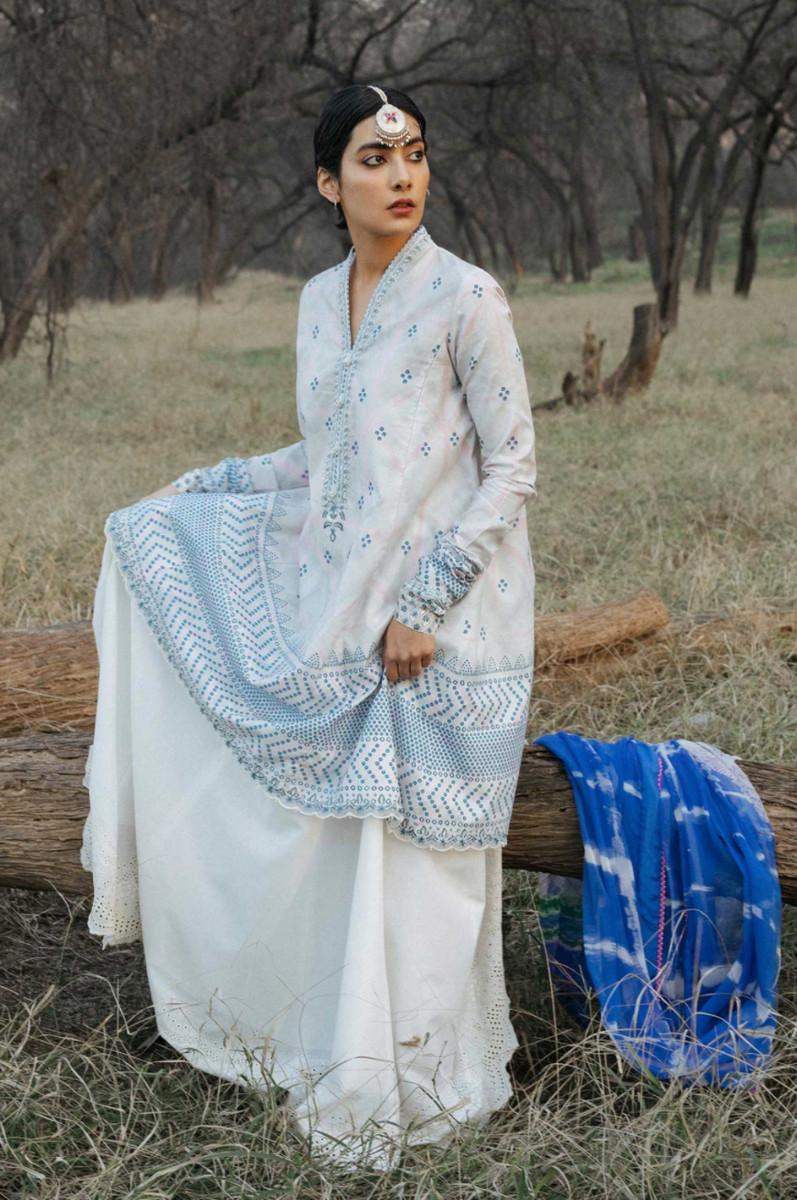 Zara Shahjahan Lawn Bansuri-B