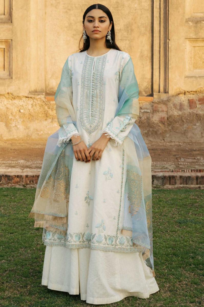 Zara Shahjahan Lawn Mehnaz-A