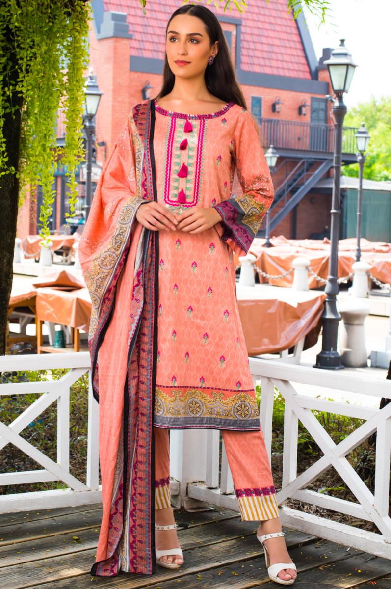 Sahil Emb Lawn SEL-04B