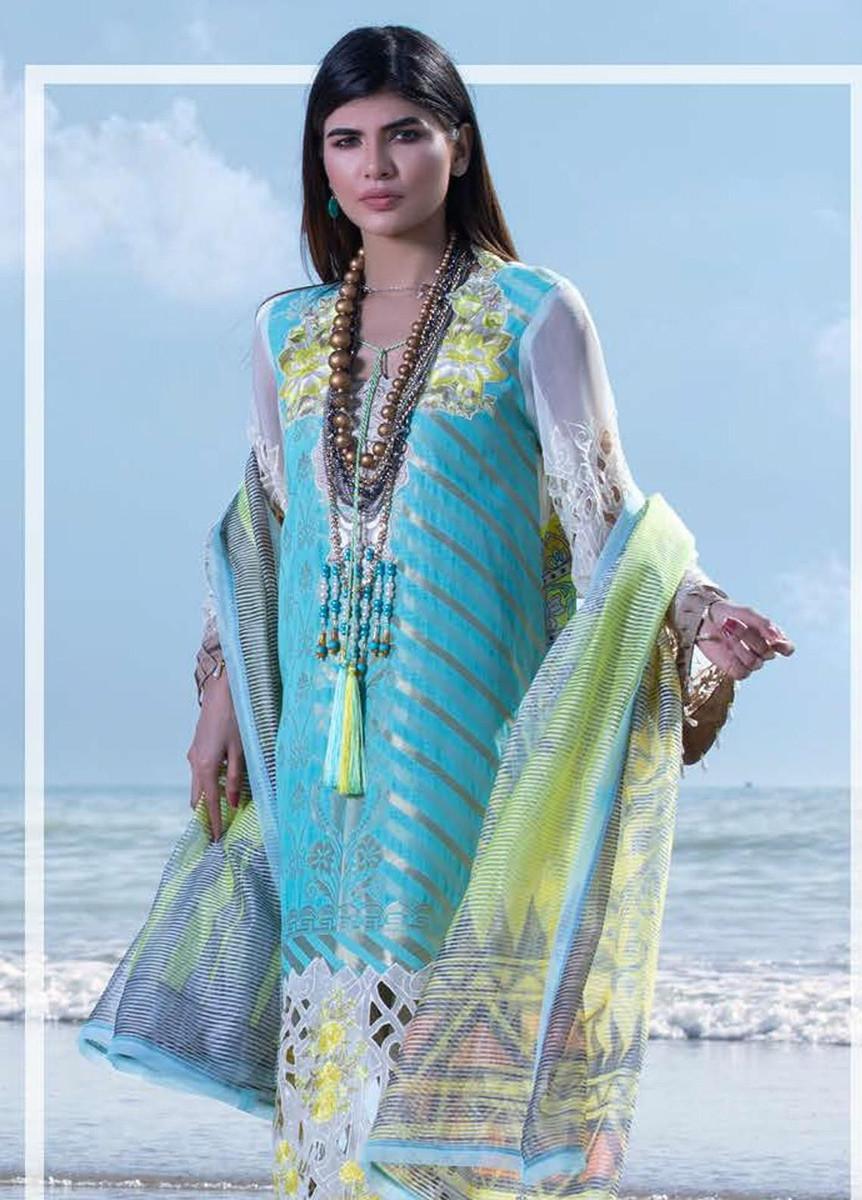 Mahamir by Tajnoor Embroidered Lawn '20-MTEL -01