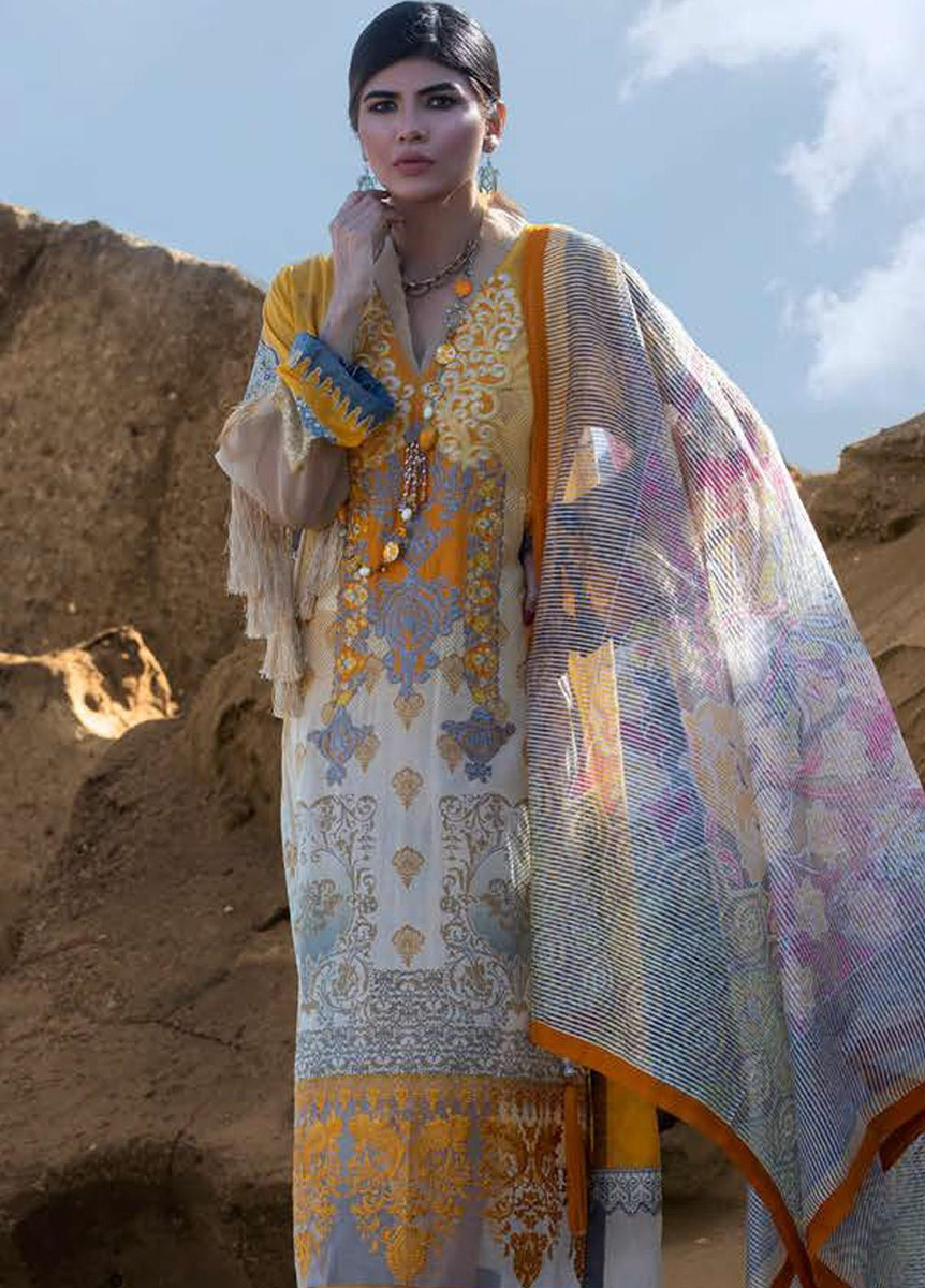 Mahamir by Tajnoor Embroidered Lawn '20-MTEL -05