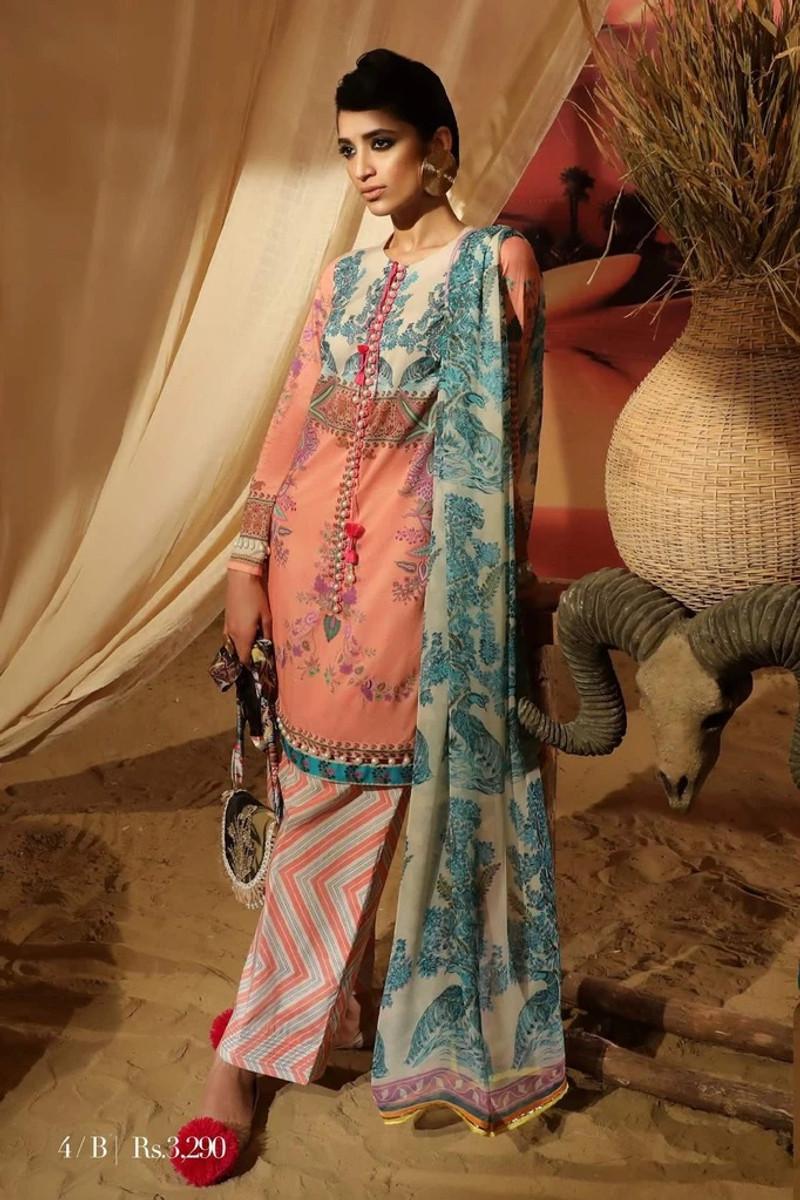 Sana Safinaz Mahay Lawn Collection – 4B
