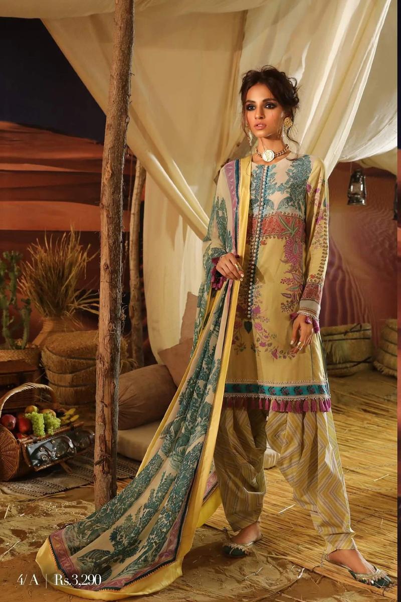 Sana Safinaz Mahay Lawn Collection – 4A