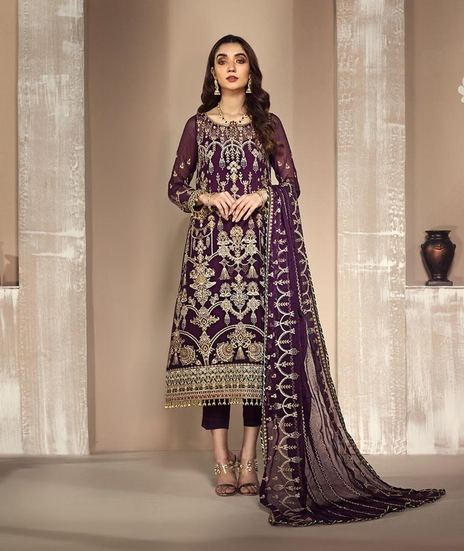 Zarif Mah E Gul Wedding Wear – ZW 04