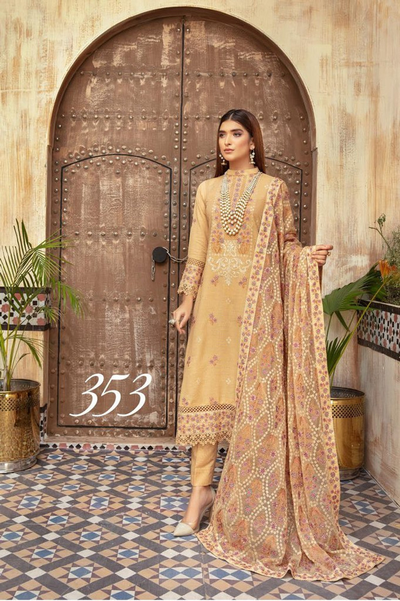 Khoobseerat by Shaista Winter Collection Vol-3 - DN-353