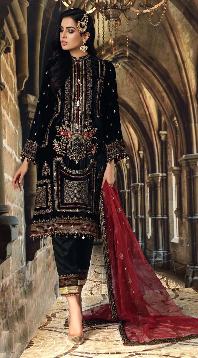 Anaya Festive Velvet Collection 2020-VL-01
