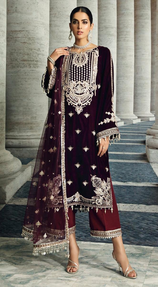 Anaya Festive Velvet Collection 2020-VL-05