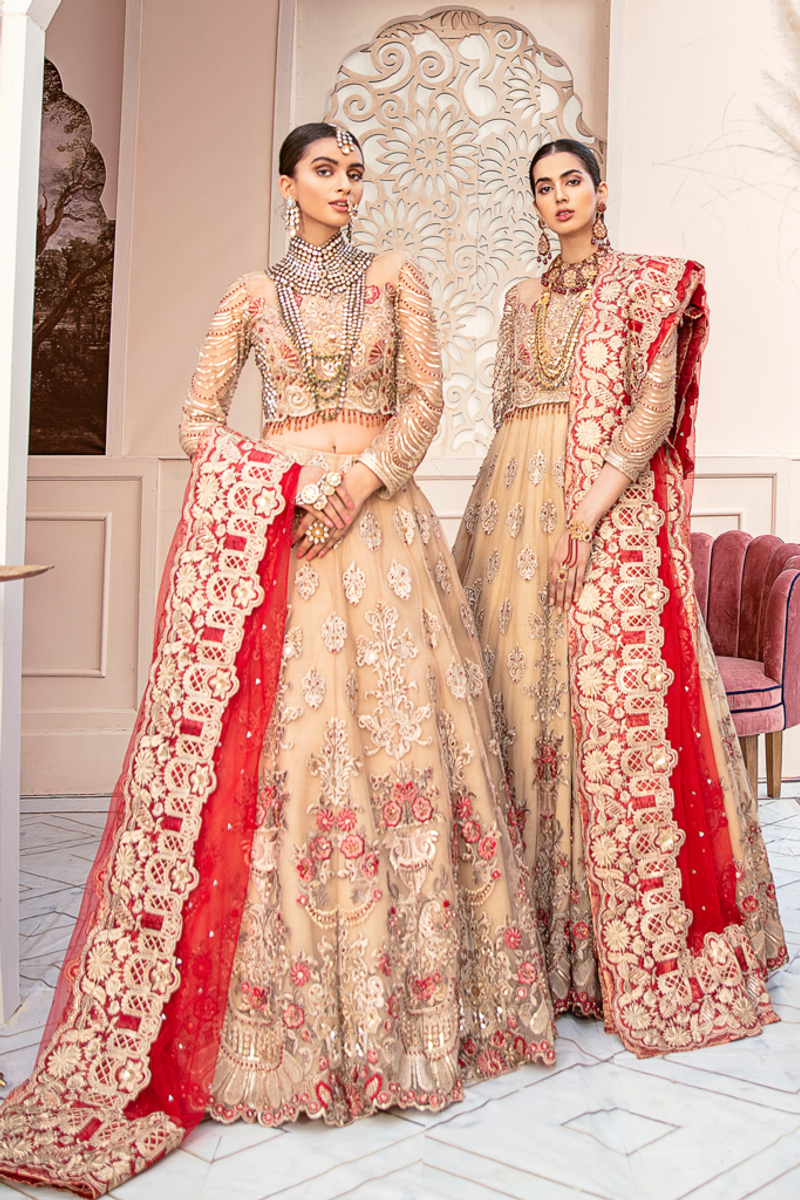 Imrozia Bridal Collection 2020 – IB-05 Royal Beige