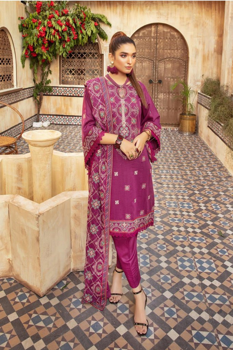 Khoobseerat by Shaista Winter Collection Vol-3 - DN-347