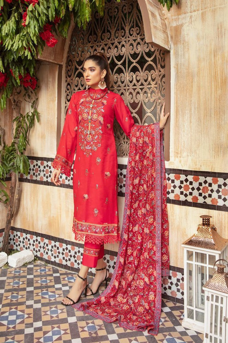 Khoobseerat by Shaista Winter Collection Vol-3 - DN-349