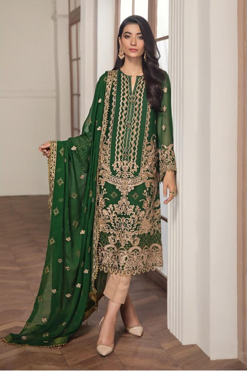 Alizeh Embroidered Chiffon (Finani-01)