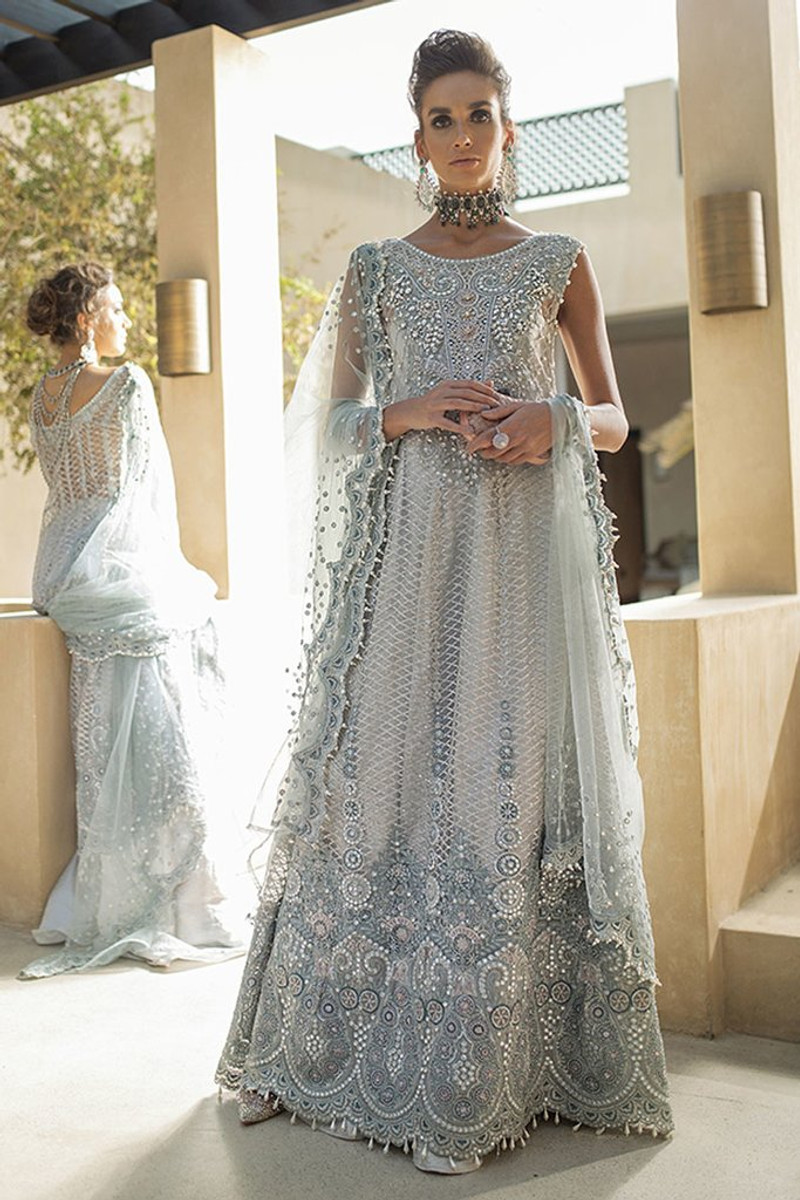 Mushq Trousseau De Luxe Wedding Collection 2020-Morning Mist 01