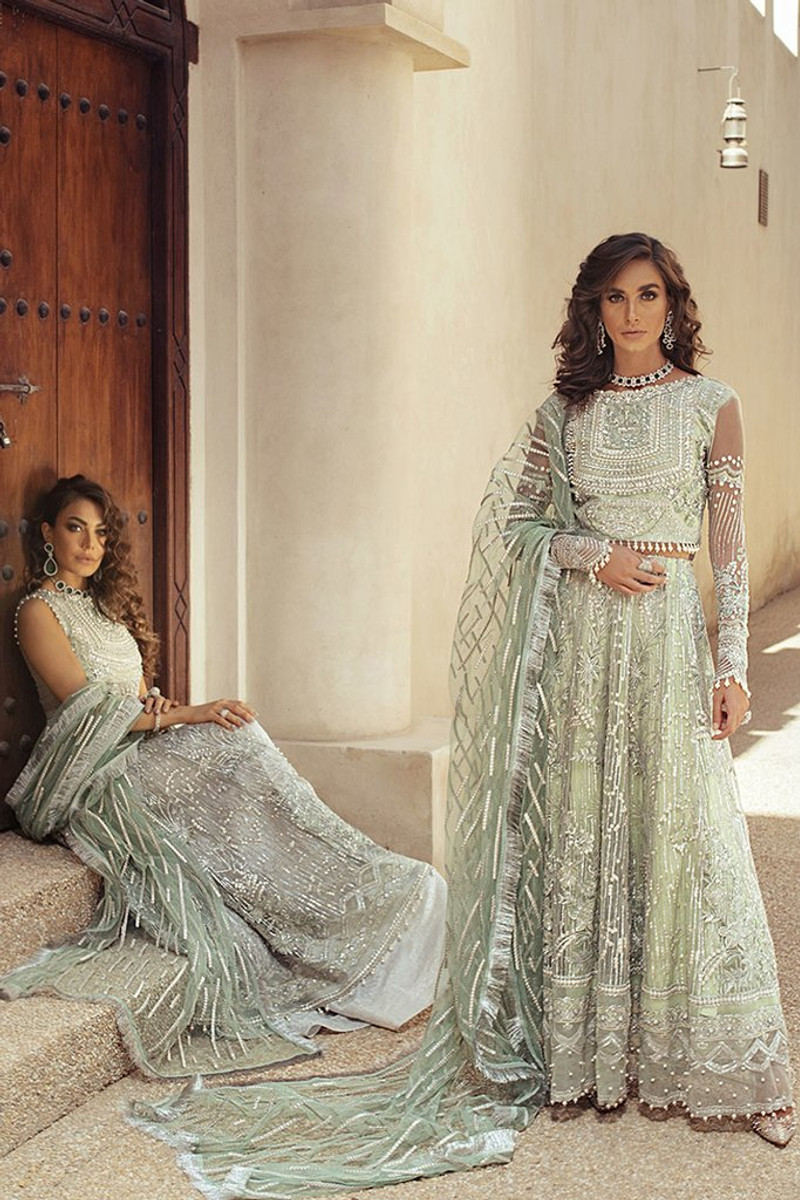 Mushq Trousseau De Luxe Wedding Collection 2020-Ocean Wave 06