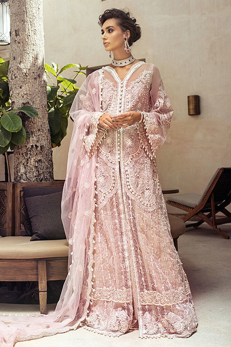 Mushq Trousseau De Luxe Wedding Collection 2020-Veiled Rose 03