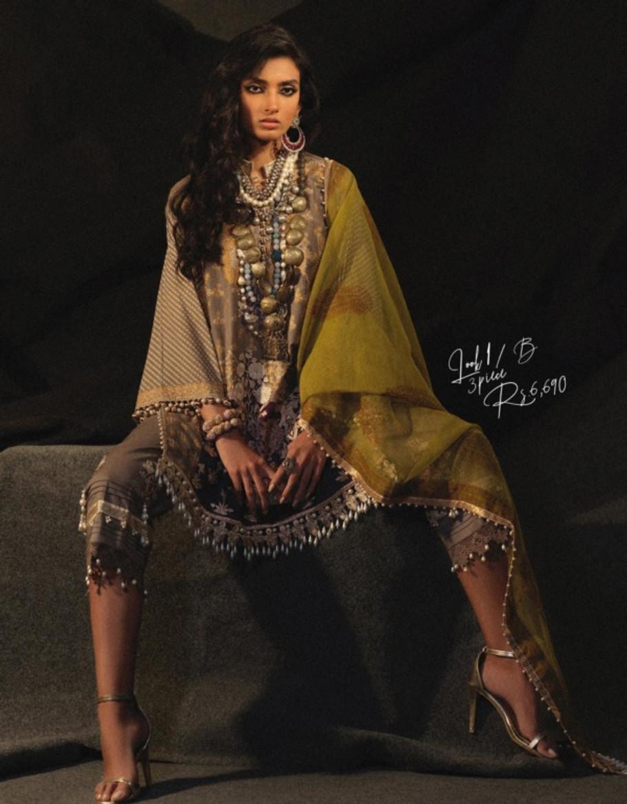 SANA SAFINAZ Muzlin Luxury Collection-2020-1B