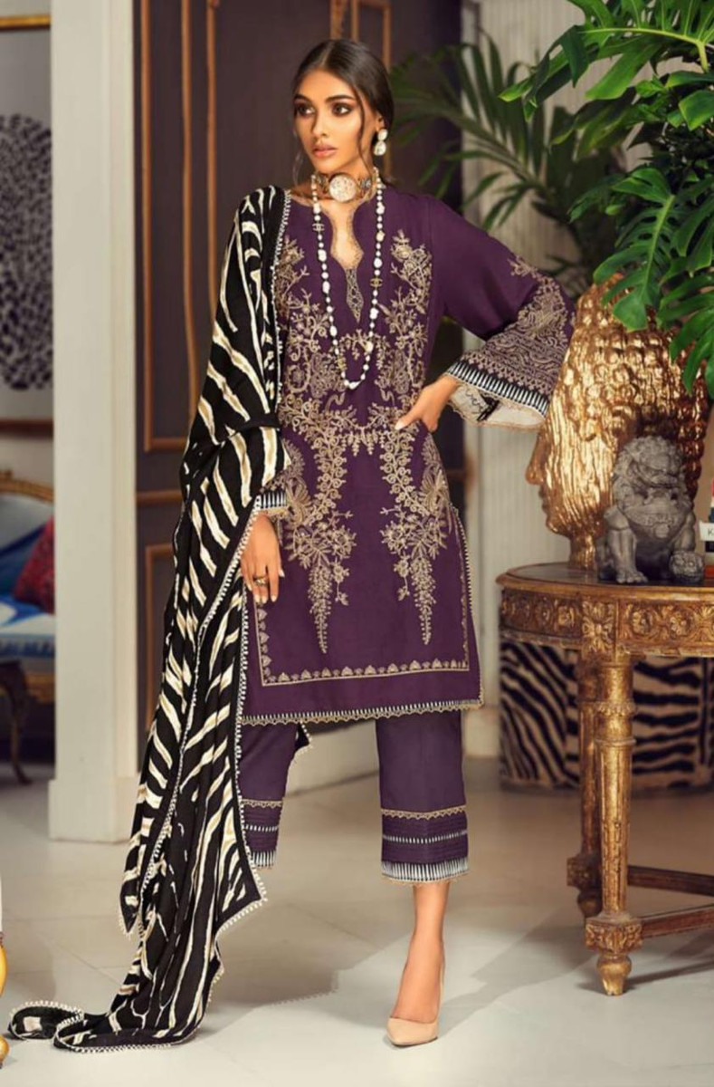 SANA SAFINAZ Winter Muzlin Collection-2020-6B