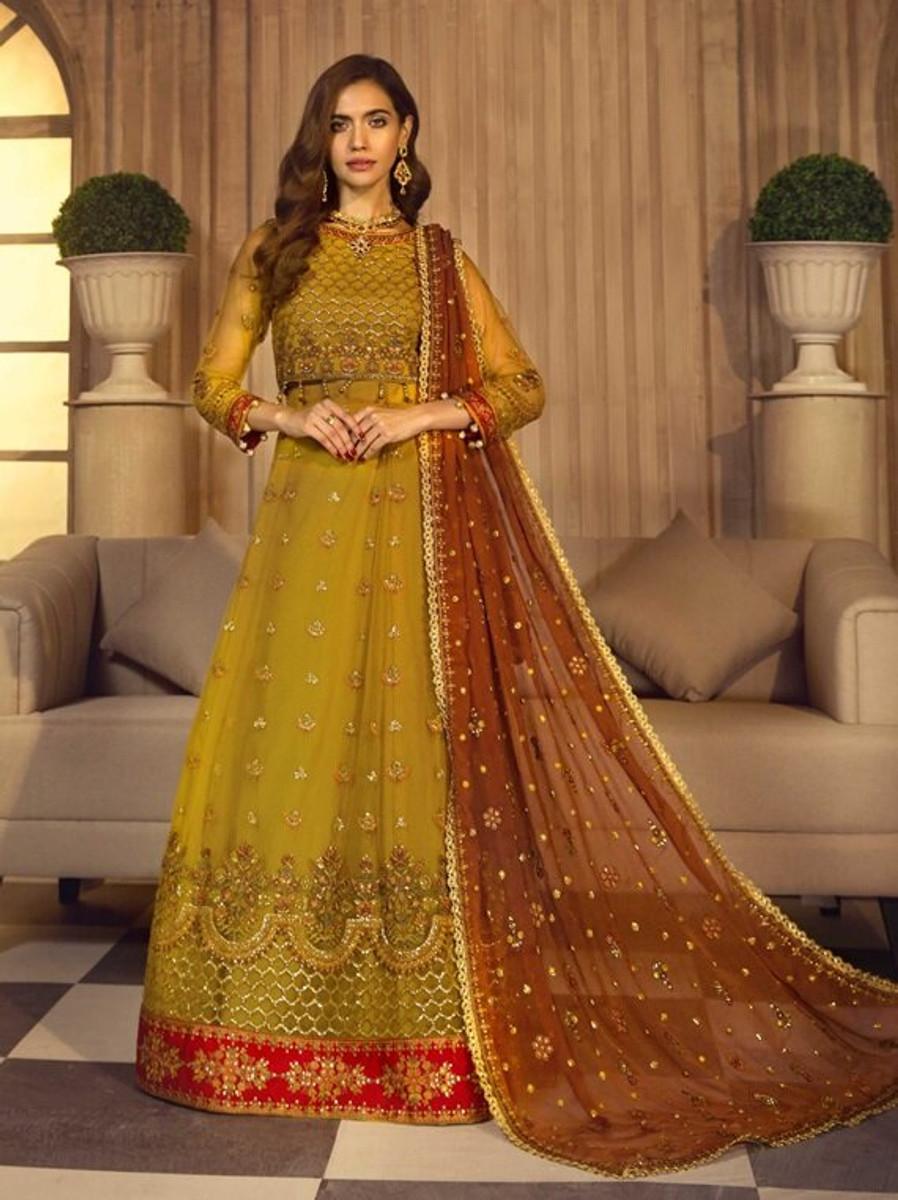 Noor e Rang By Zarif Wedding Collection 2021 - ZF-02