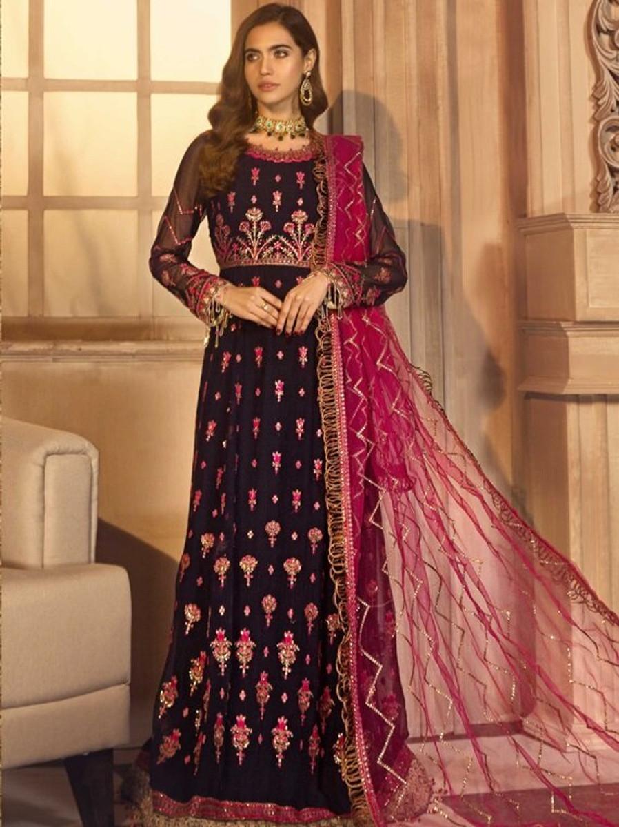 Noor e Rang By Zarif Wedding Collection 2021 - ZF-01