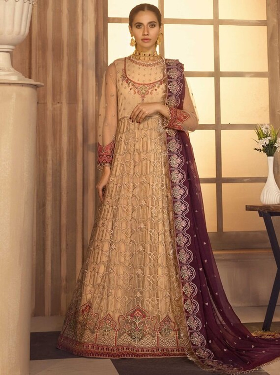 Noor e Rang By Zarif Wedding Collection 2021 - ZF-08