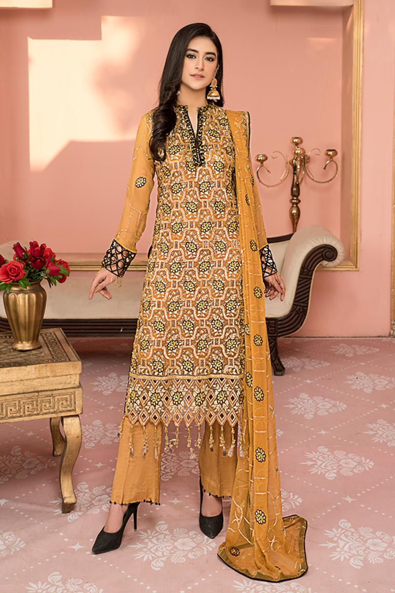 Maryam's Luxury Handmade Neck Collection D# 03