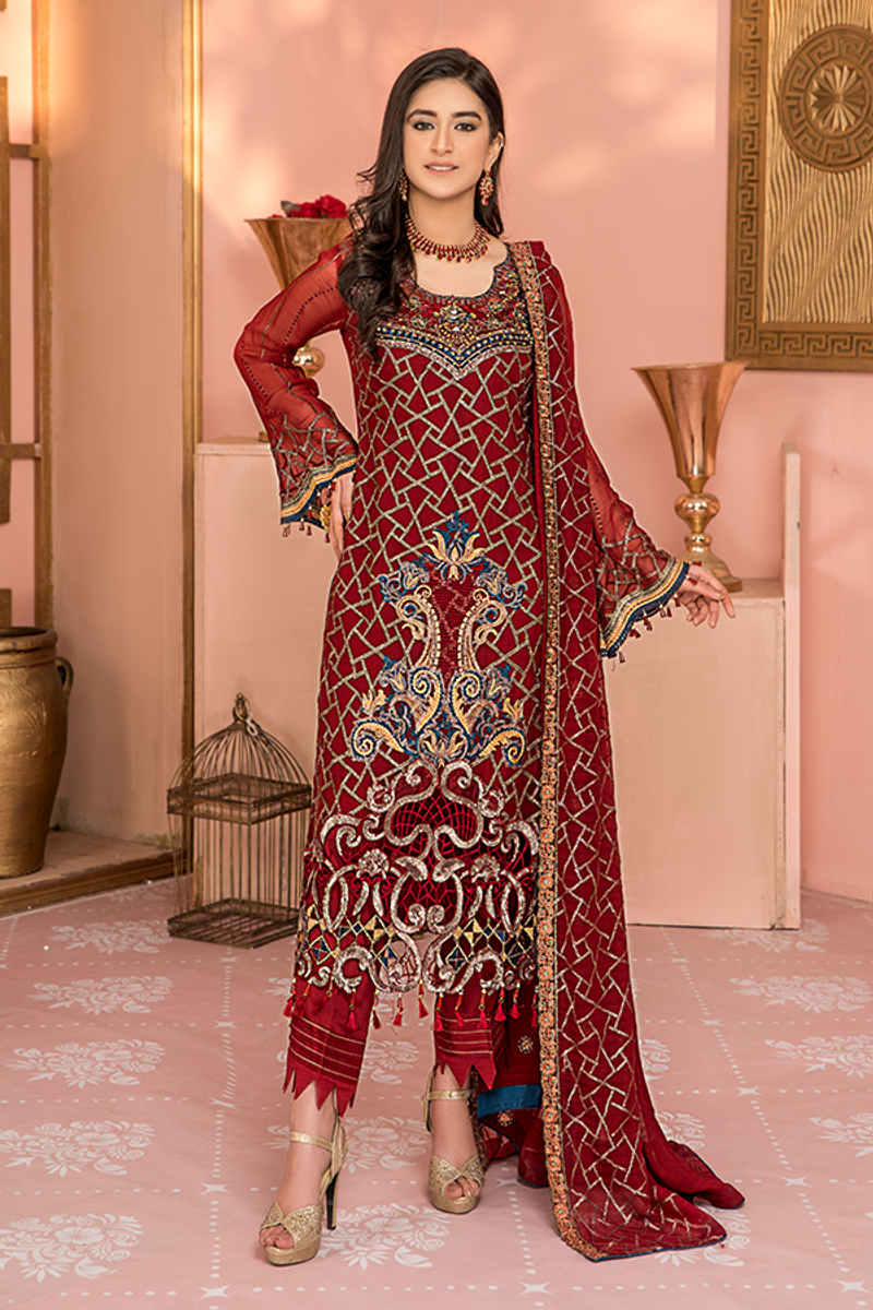 Maryam's Luxury Handmade Neck Collection D# 05