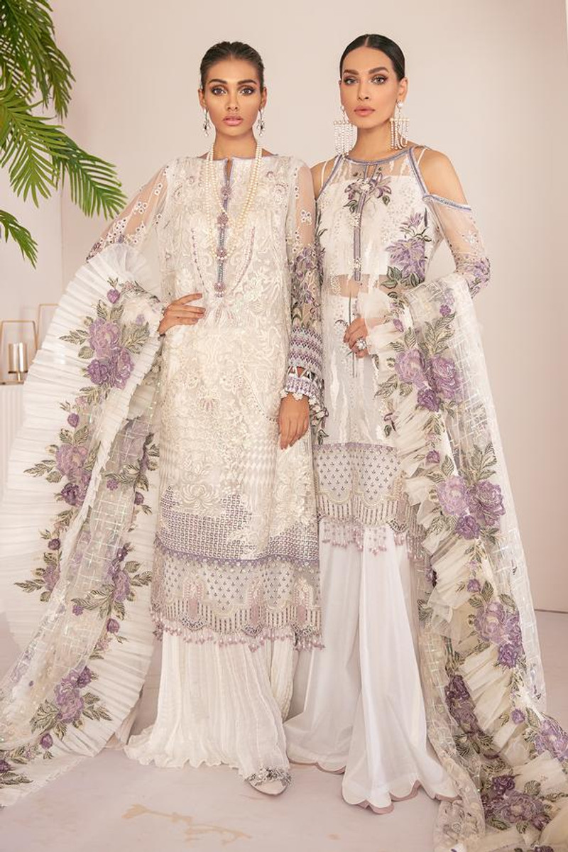 Baroque Chantelle Embroidered Chiffon 21 - D-03