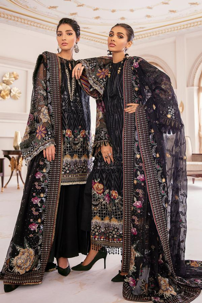 Baroque Chantelle Embroidered Chiffon 21 - D-09
