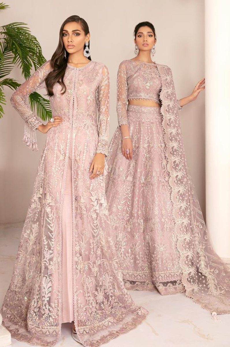Baroque Chantelle Embroidered Chiffon 21 - D-01