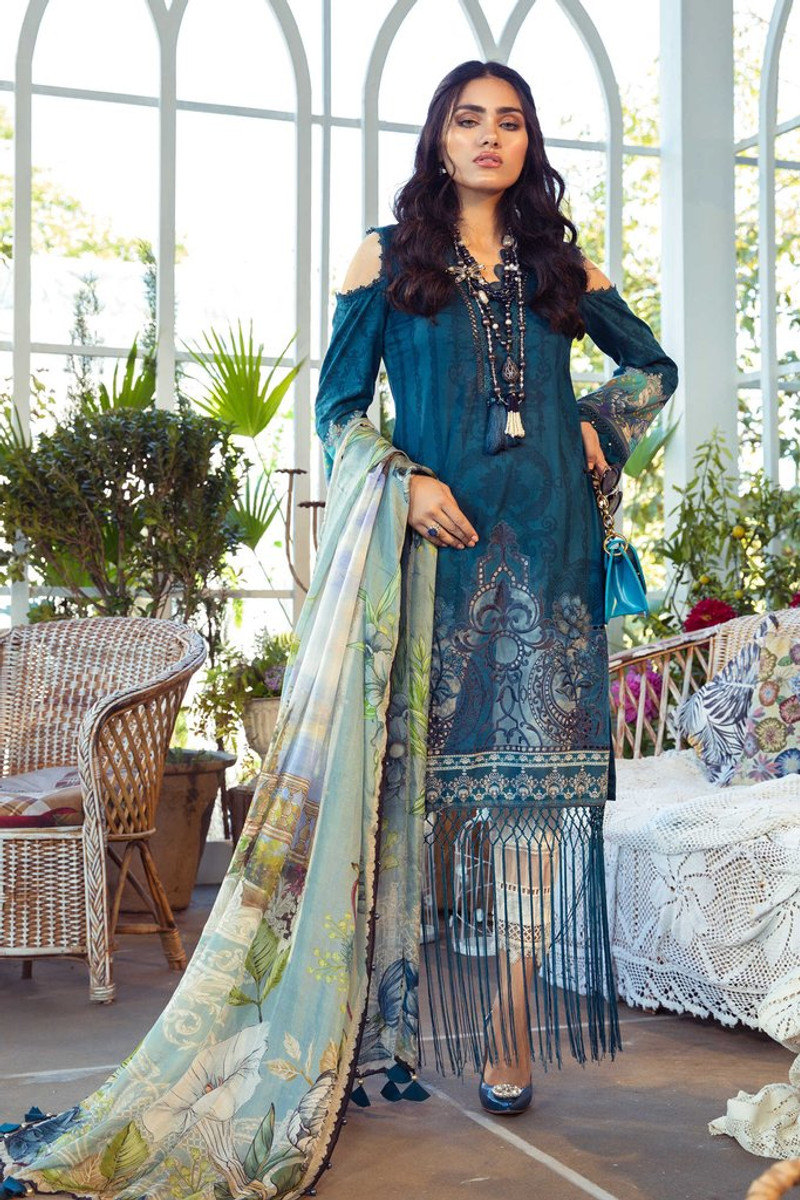 MARIA.B MPrints Spring/Summer Lawn Collection 2021-MPT-1003-B