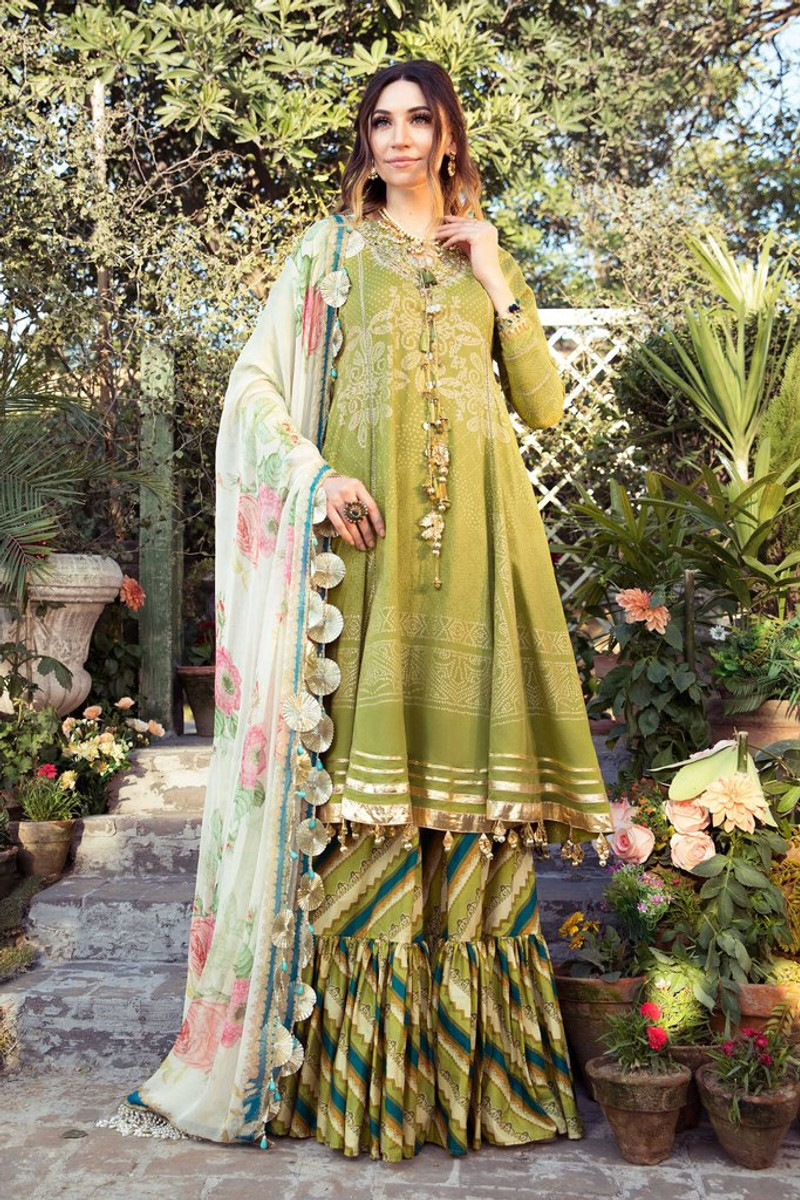 MARIA.B MPrints Spring/Summer Lawn Collection 2021-MPT-1004-B