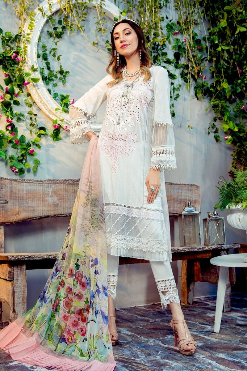 MARIA.B MPrints Spring/Summer Lawn Collection 2021-MPT-1011-A
