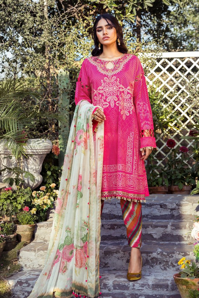 MARIA.B MPrints Spring/Summer Lawn Collection 2021-MPT-1004-A