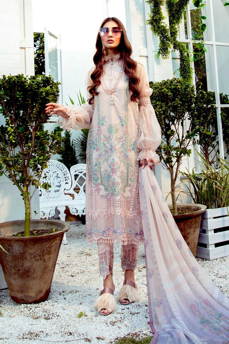 MARIA.B MPrints Spring/Summer Lawn Collection 2021-MPT-1012-A