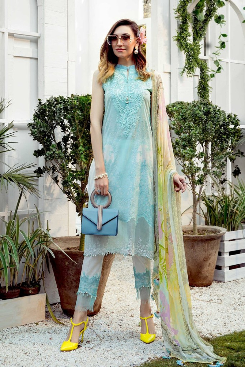 MARIA.B MPrints Spring/Summer Lawn Collection 2021-MPT-1002-A