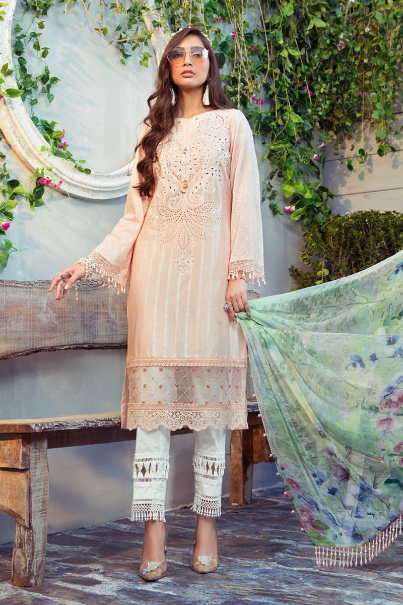 MARIA.B MPrints Spring/Summer Lawn Collection 2021-MPT-1011-B