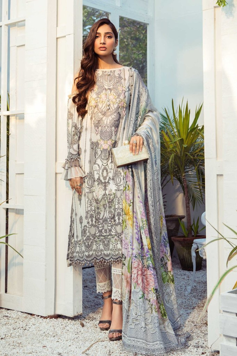 MARIA.B MPrints Spring/Summer Lawn Collection 2021-MPT-1005-B