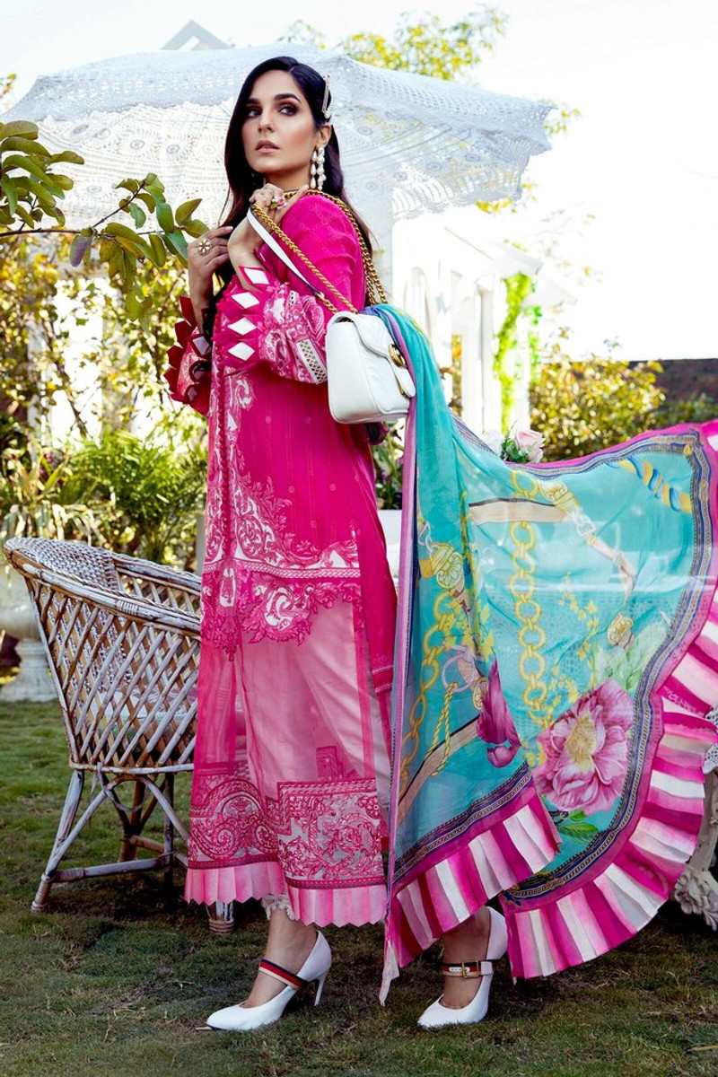 MARIA.B MPrints Spring/Summer Lawn Collection 2021-MPT-1009-B
