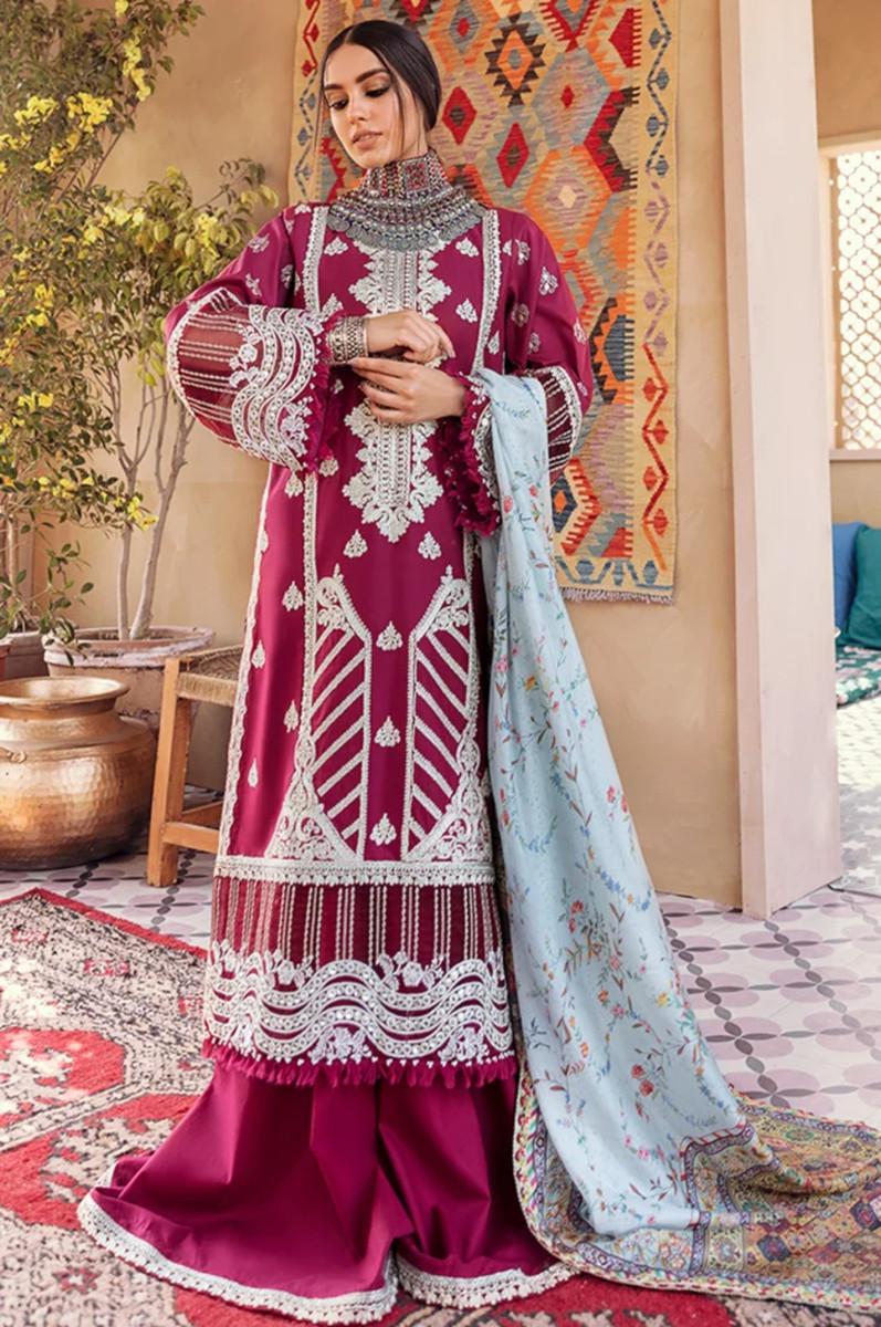 Qalamkar Luxury Lawn 21-HL-10