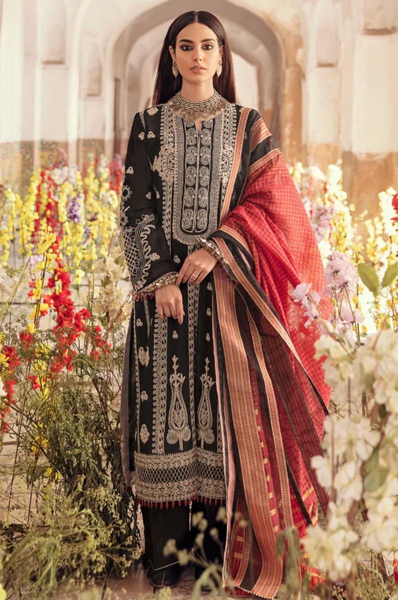 Qalamkar Luxury Lawn 21-HL-01