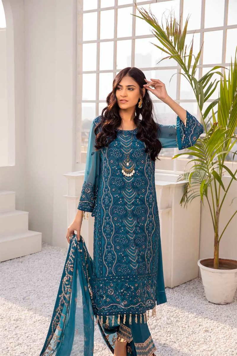 Azure Luxe Eid Collection 2021 – Sea Waves