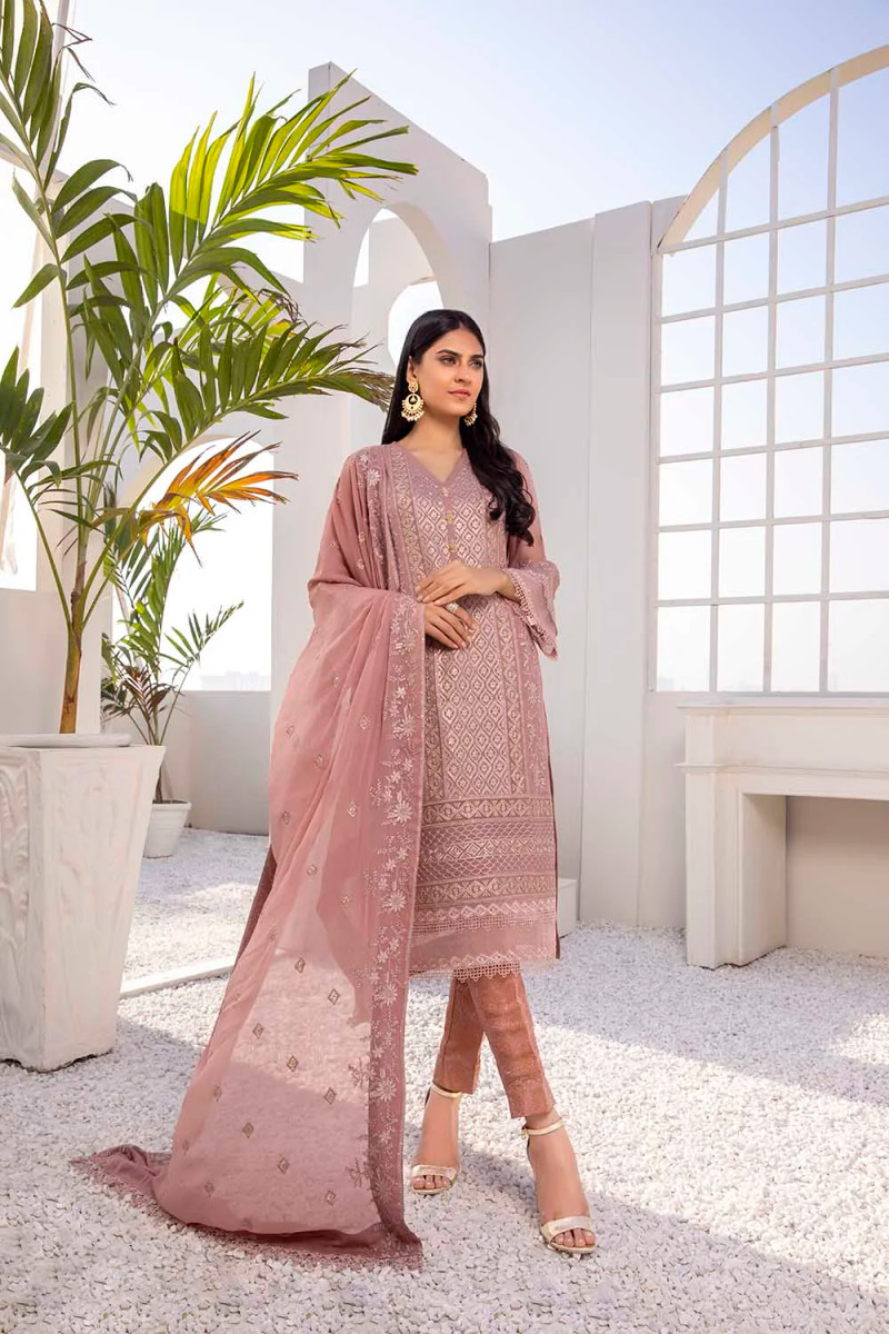Azure Luxe Eid Collection 2021 – Dusty Rose