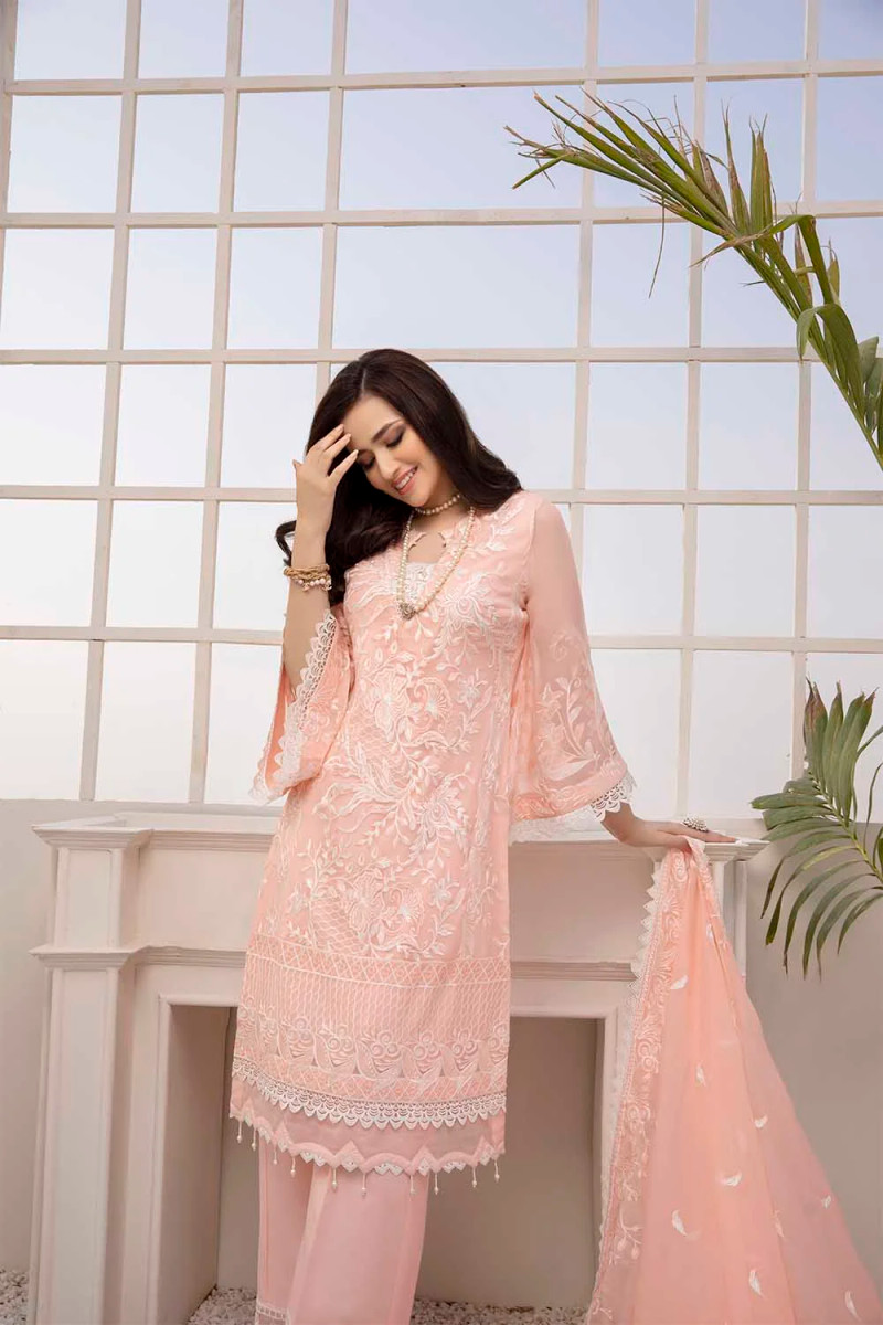 Azure Luxe Eid Collection 2021 – Gleaming Peach