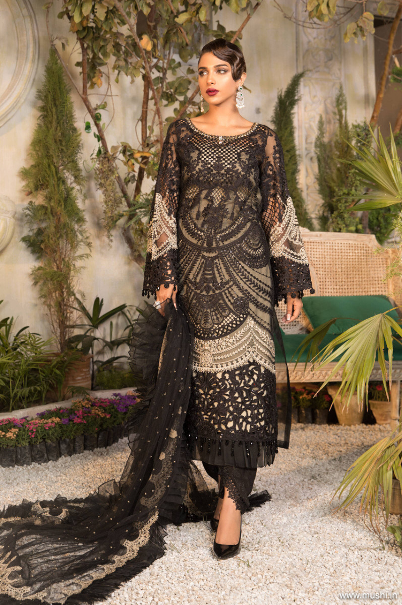 Maria B Mbroidered Eid 2021 D-06