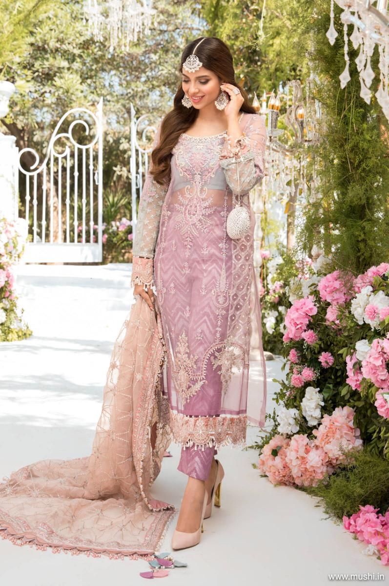 Maria B Mbroidered Eid 2021 D-05